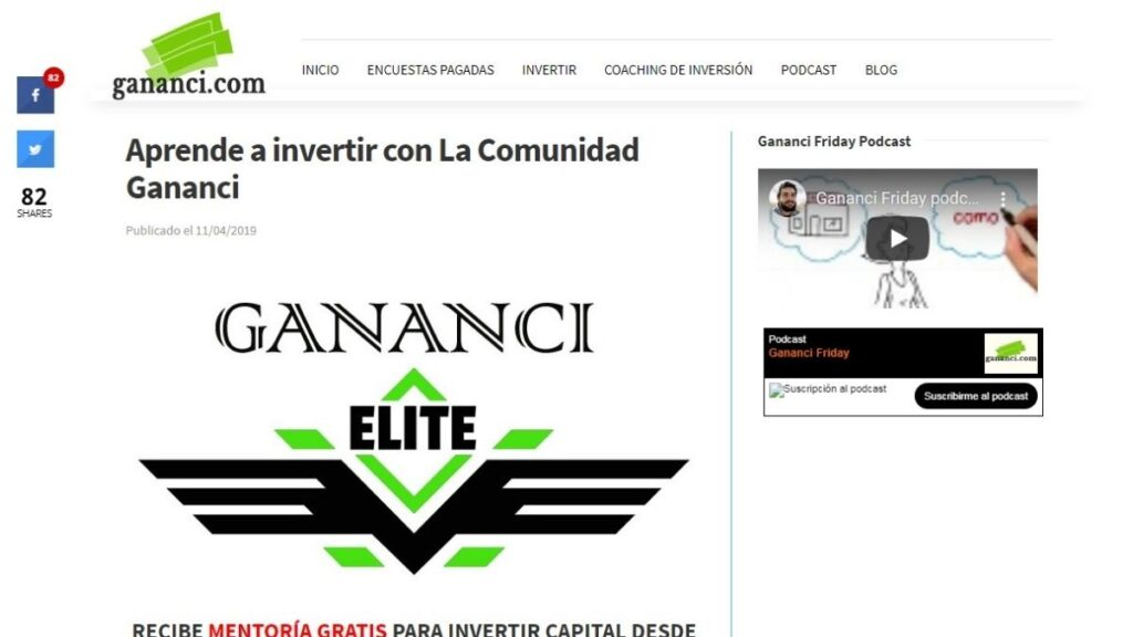 Gananci Elite Crypto Estafa