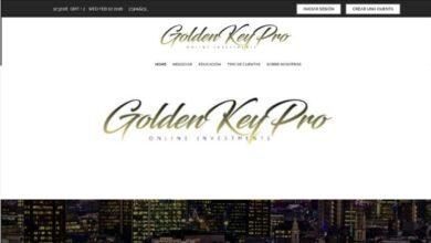 Golden Key Pro Binaria Estafa