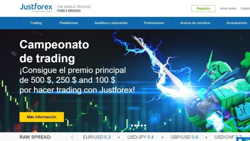 JustForex Forex Estafa