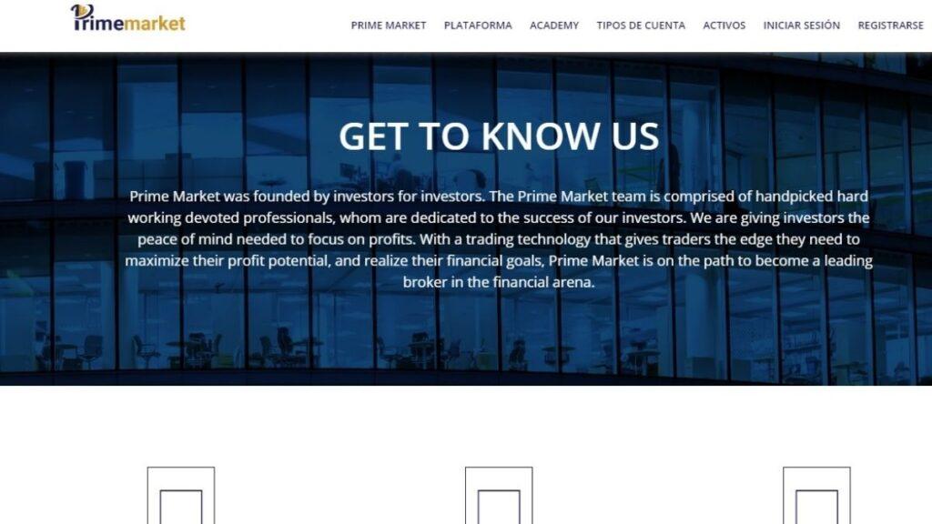 Prime Market Forex Estafa