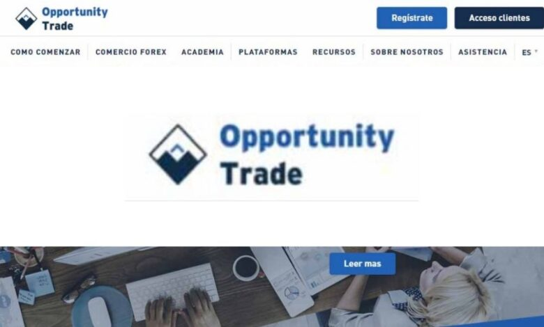 Opportunity Trade Forex Estafa