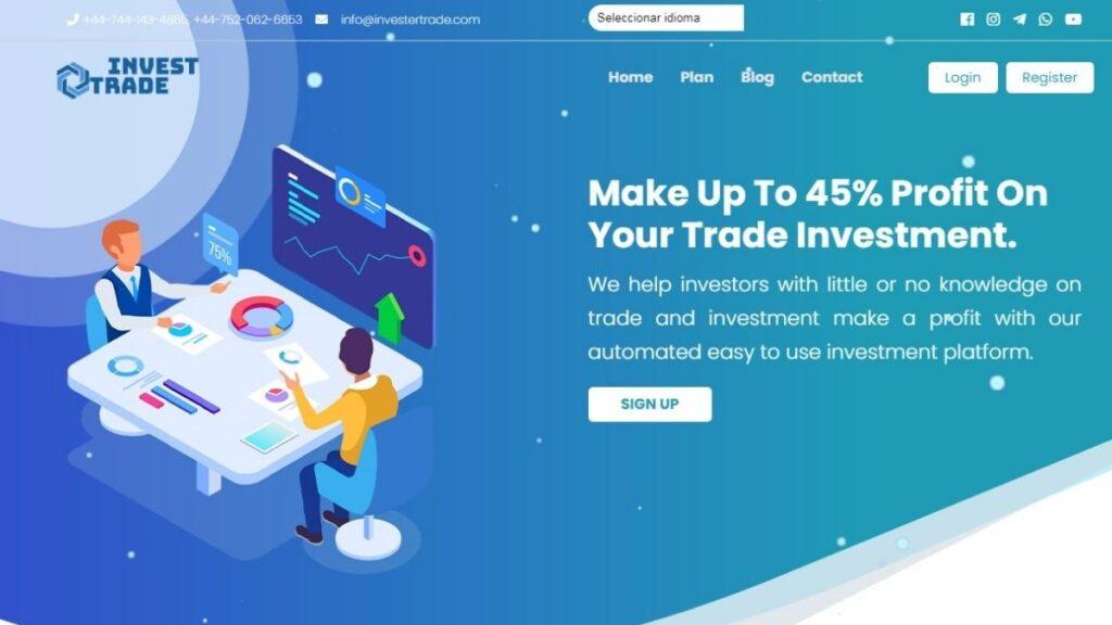 Invest Trader Crypto Estafa