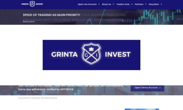 Grinta Invest Forex Estafa