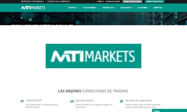 MTI Markets Forex Estafa