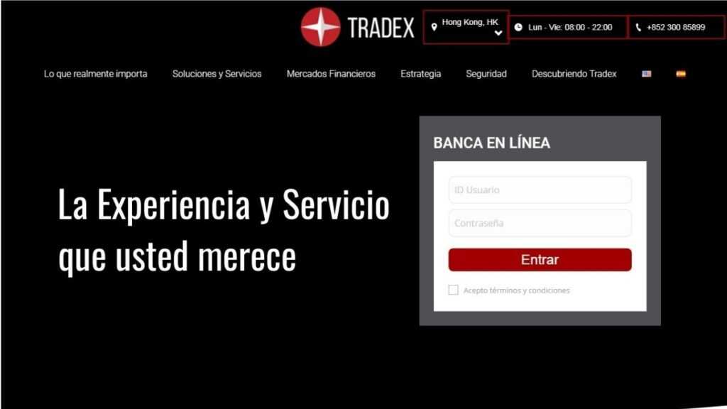 Tradex Forex Estafa