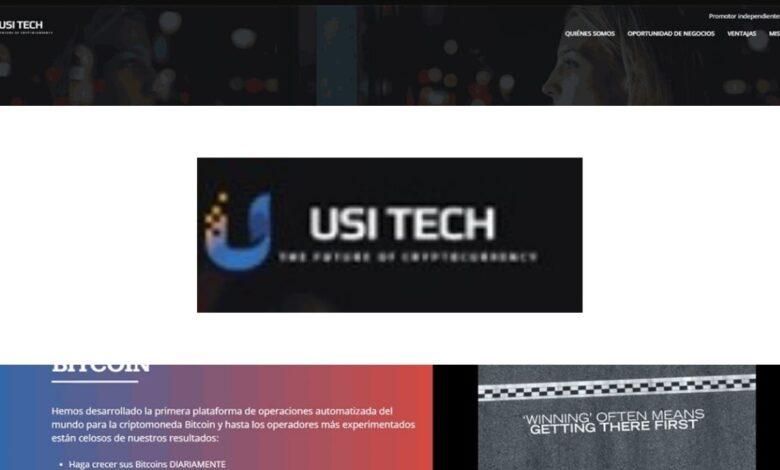 USI Tech Crypto Estafa