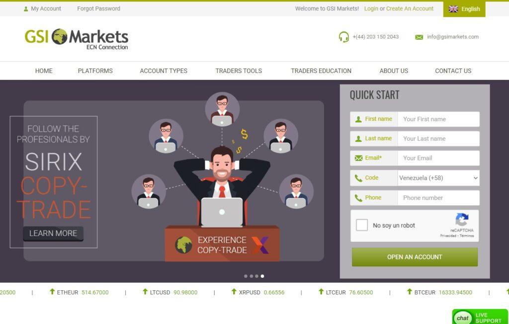 Gsi Markets Forex Estafa