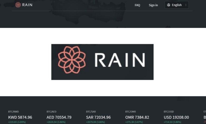Rain Crypto Estafa