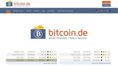 Bitcoin.de Crypto Estafa