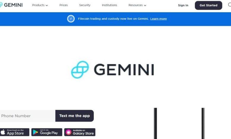 Gemini Crypto Estafa
