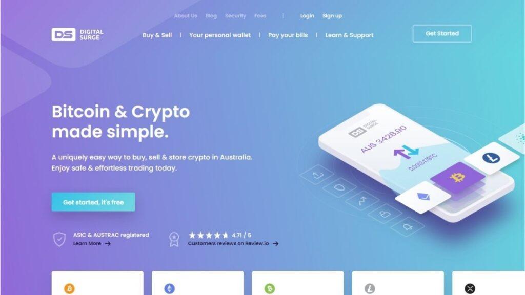 Digital Surge Crypto Estafa