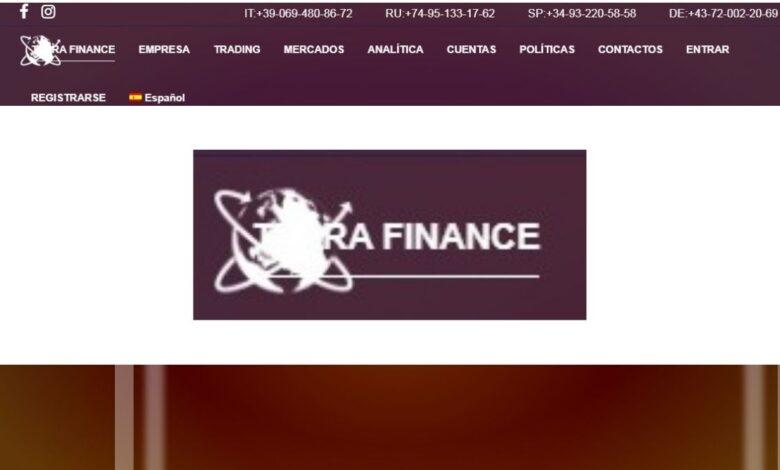 Terra Finance Forex Estafa