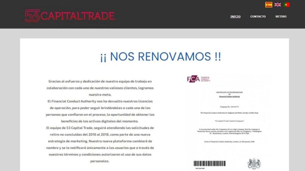 53 Capital Trade Forex Estafa