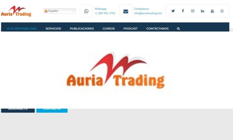 Auria Trading Forex Estafa