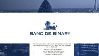 Banc De Binary Forex Estafa
