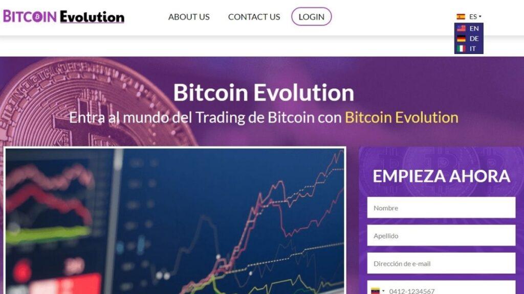 Bitcoin Evolution Crypto Estafa