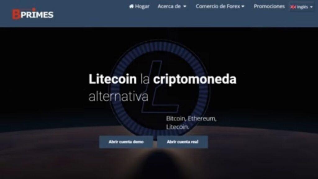 Bprimes Invest Crypto Estafa