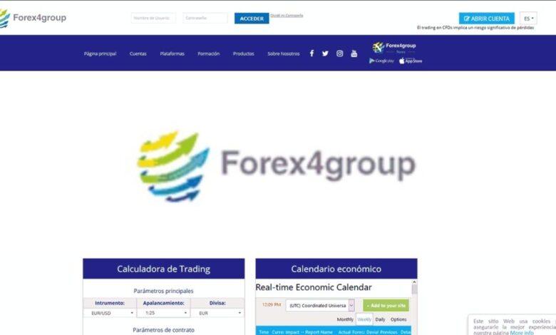 Forex4group opiniones Forex Estafa