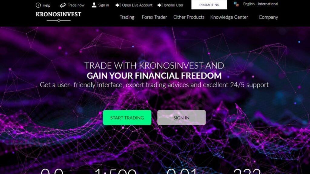 Kronos invest Forex Estafa