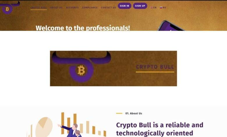 Crypto bull Crypto Estafa