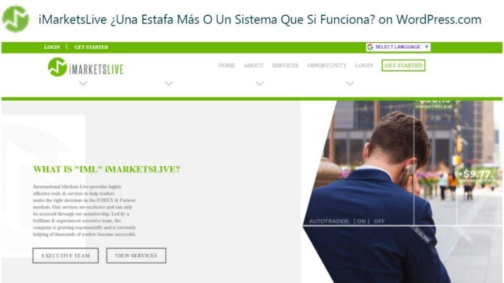 International Markets Live Forex Estafa